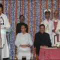 Taking Oath as Rural Development Minister of Maharashtra
